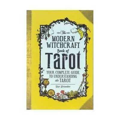 Modern Witchcraft book of Tarot (hc) by Skye Alexander