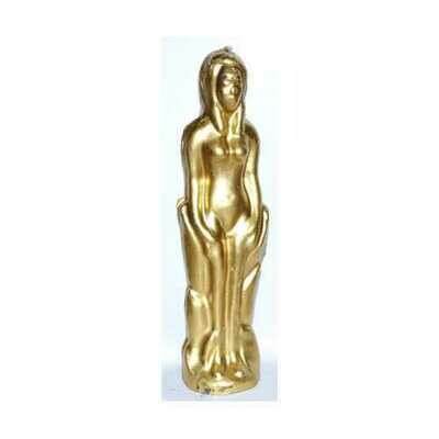 Gold Female candle 7