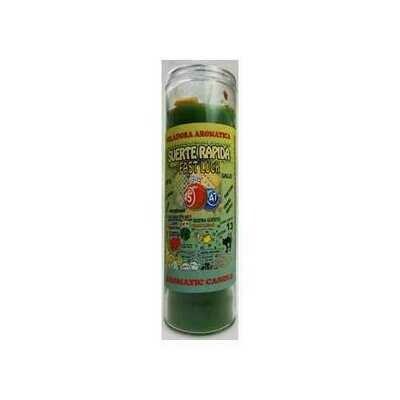 Fast Luck (Suerte Rapida) aromatic jar candle
