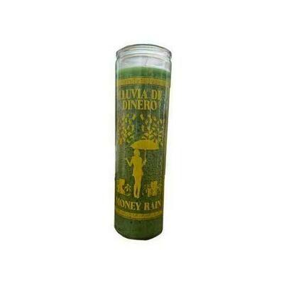 Money Rain Green 7 Day jar candle