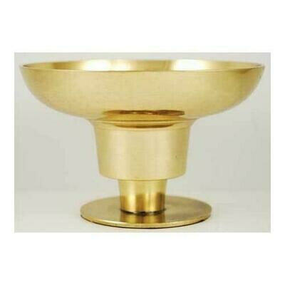 Brass Universal candle holder 4 1/4