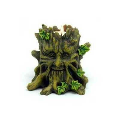 Tree Man tealight holder
