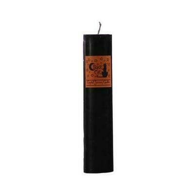 Black Cat pillar candle