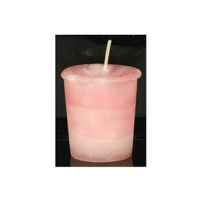 Friendship Herbal votive - pink