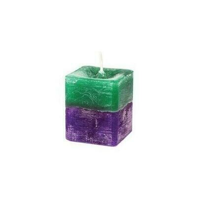 Stress Relief Square Votive Candle