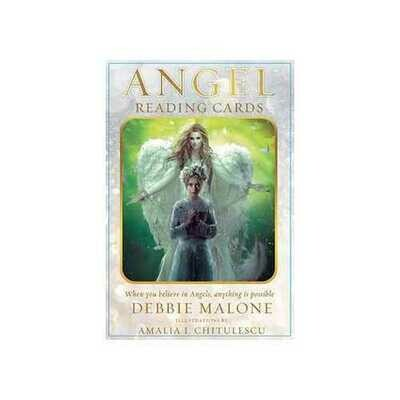 Angel Reading Cards deck & book by Debbie Malone