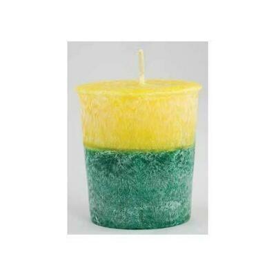 Patchouli Amber Palm Oil Votive Candle