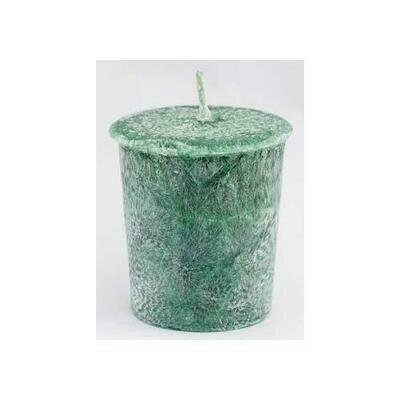 Patchouli Palm Oil Votive Candle