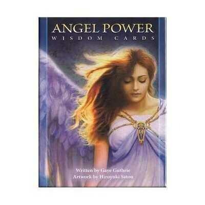 Angel Power Wisdom cards by Guthrie & Satou