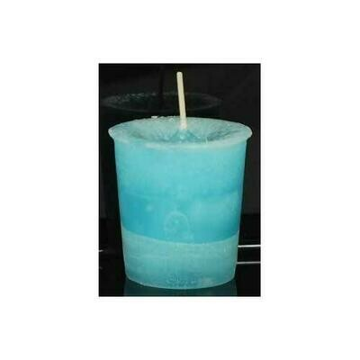 Dreams Herbal votive - light aqua
