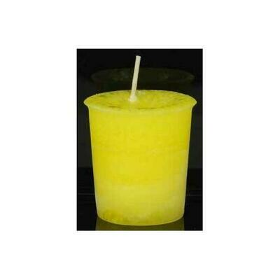 Laughter Herbal votive - yellow