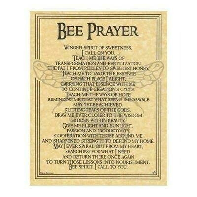 Bee Prayer poster