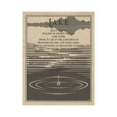 Lake Prayer poster