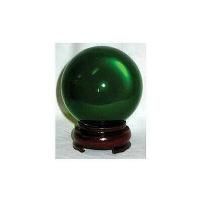 80mm Green gazing ball