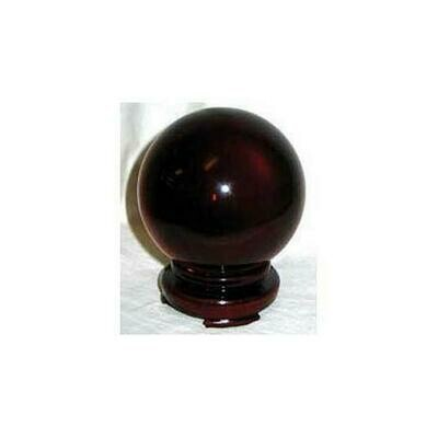 Red Gazing Ball 80mm
