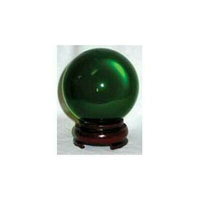 50mm Green gazing ball