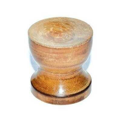 Wood gazing ball stand (3/pk)