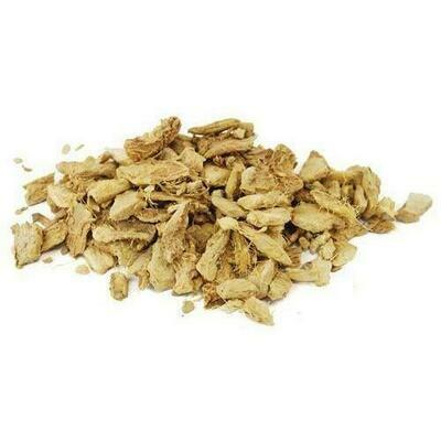 Ginger Root cut 1oz  (Zingiber officinale)