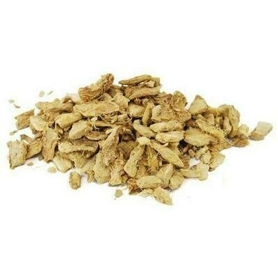 1 Lb Ginger Root cut (Zingiber officinale)