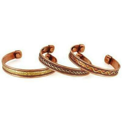 Copper Magnetic bracelet (varied)
