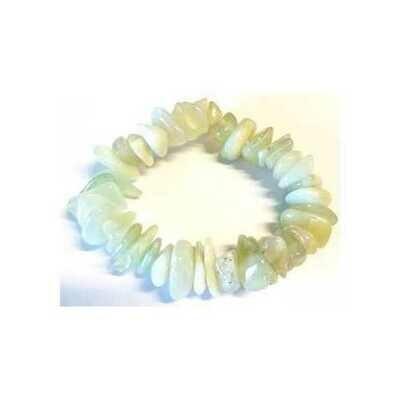 New Jade gemstone bracelet stretch