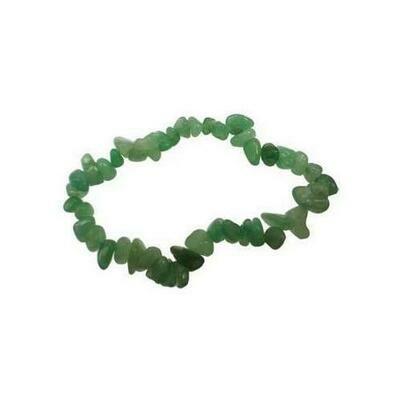 Aventurine, Green chip bracelet