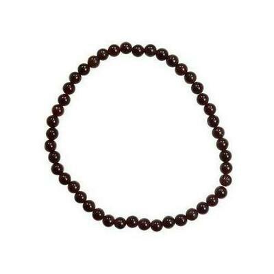 4mm Garnet stretch bracelet