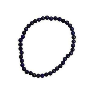4mm Lapis stretch bracelet
