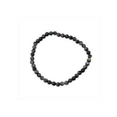 4mm Labradorite stretch bracelet