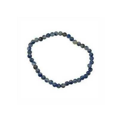 4mm Sodalite stretch bracelet