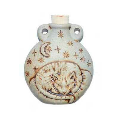 Cat Ceramic Oil Bottle