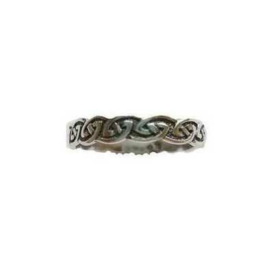 Celtic Knot ring size 8 sterling