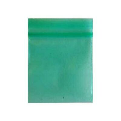 Green ReSealable bags 2