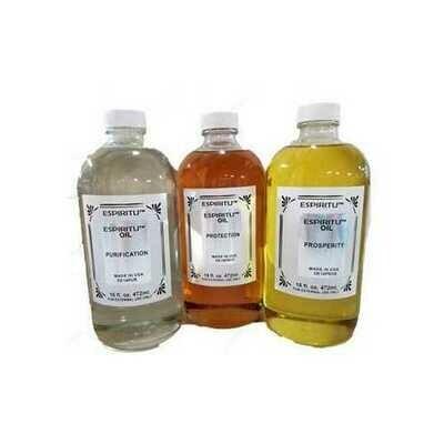 16oz Amber oil