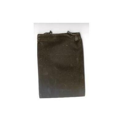 Black Velveteen Bag