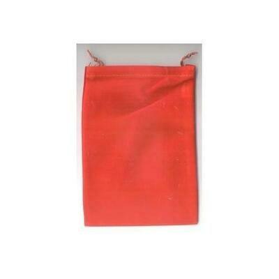 Red Velveteen Bag  5 x 7