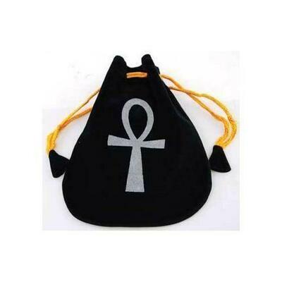 Ankh Velveteen Bag