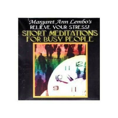 CD: Short Meditations for Busy People by Margaret Ann Lembo