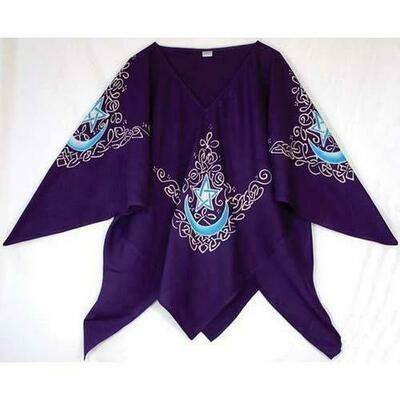 Celtic Moon Top purple
