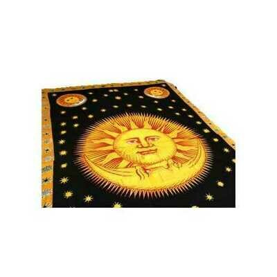 Sun God tapestry 72