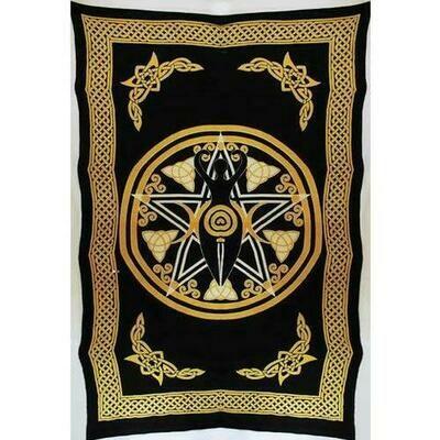 Goddess of Earth tapestry  72