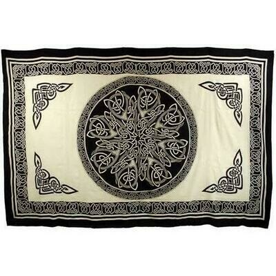Ancient Celtic Knot tapestry 72
