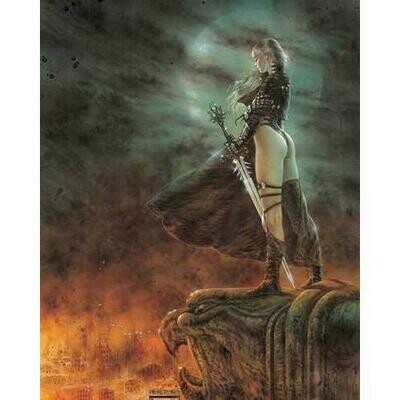 Luis Royo - Hour Has Arrived