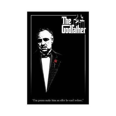 The Godfather: Brando Red Rose