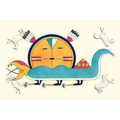 Sun Disk Lizard, The