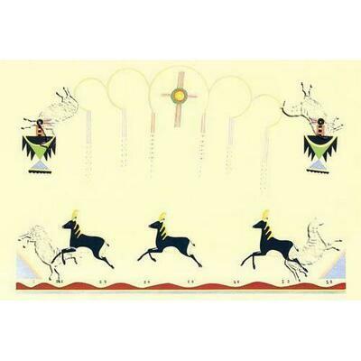 Galloping Deer