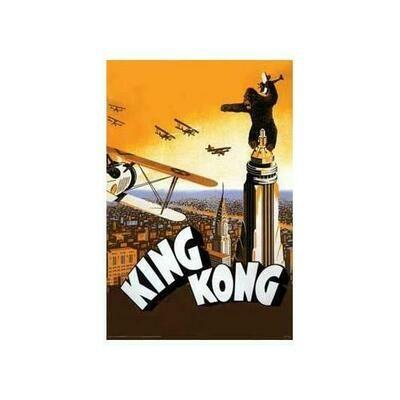 King Kong - Airplane