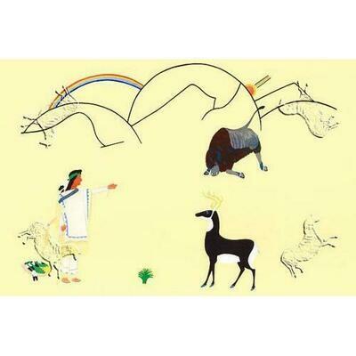 Montezuma Summoning The Animals