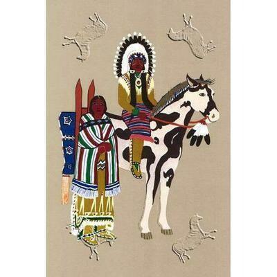 Kiowa Warrior and Wife