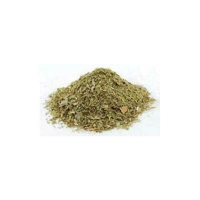 Sassafras Leaf cut 2oz (Sassafras albidium)